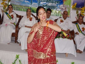 welcome dance by Kumari Reena
